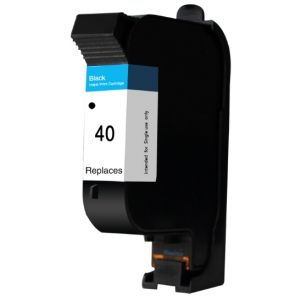 Cartridge HP 40 (51640A), čierna (black), alternatívny