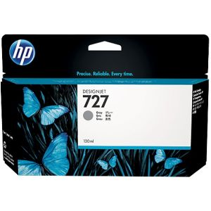 Cartridge HP 727, B3P24A, sivá (gray), originál