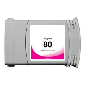 Cartridge HP 80 XL (C4847A), purpurová (magenta), alternatívny