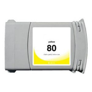 Cartridge HP 80 XL (C4848A), žltá (yellow), alternatívny