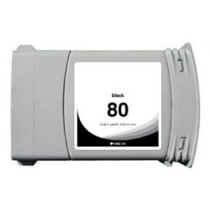 Cartridge HP 80 XL (C4871A), čierna (black), alternatívny