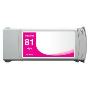 Cartridge HP 81 (C4932A), purpurová (magenta), alternatívny