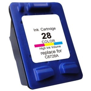 Cartridge HP 28 (C8728AE), farebná (tricolor), alternatívny