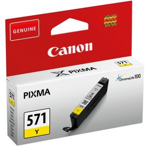 Cartridge Canon CLI-571Y, žltá (yellow), originál