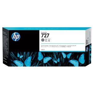 Cartridge HP 727, F9J80A, sivá (gray), originál