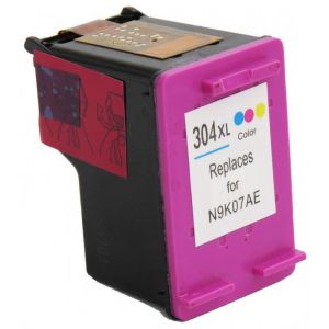 Cartridge HP 304 XL (N9K07AE), farebná (tricolor), alternatívny