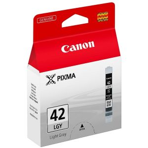 Cartridge Canon CLI-42LGY, svetlá sivá (light gray), originál