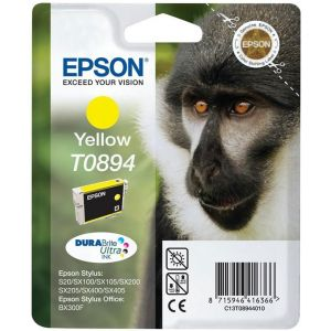 Cartridge Epson T0894, žltá (yellow), originál
