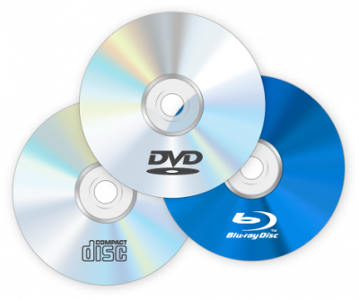 Datové média (CD, DVD, Blue-ray)